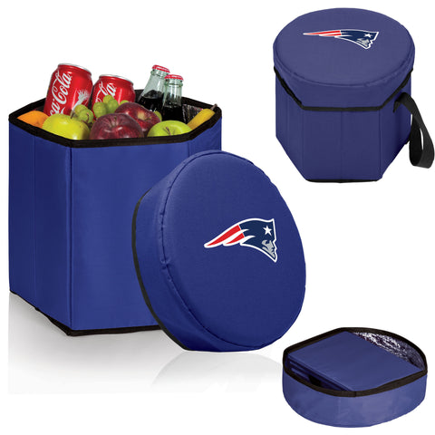 New England Patriots Bongo Cooler in Navy