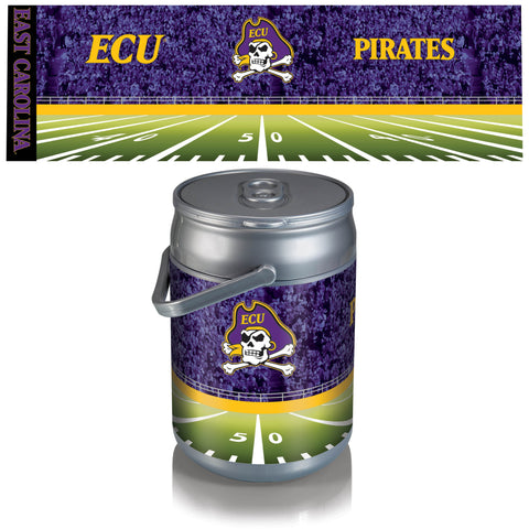 East Carolina Pirates Can Cooler in Football Design
