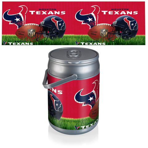 Houston Texans Can Cooler in Football Design
