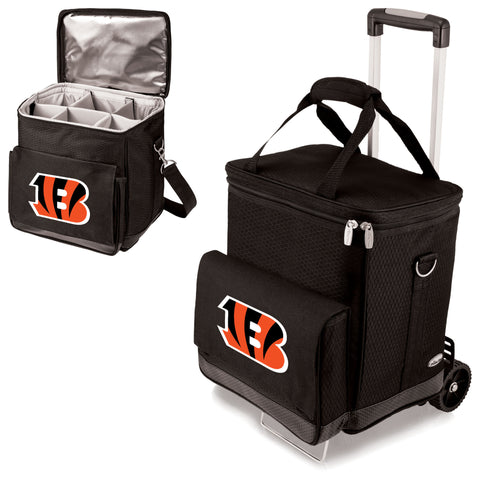 Cincinnati Bengals Cellar Wine Cooler w/Trolley
