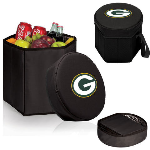 Green Bay Packers Bongo Cooler in Black