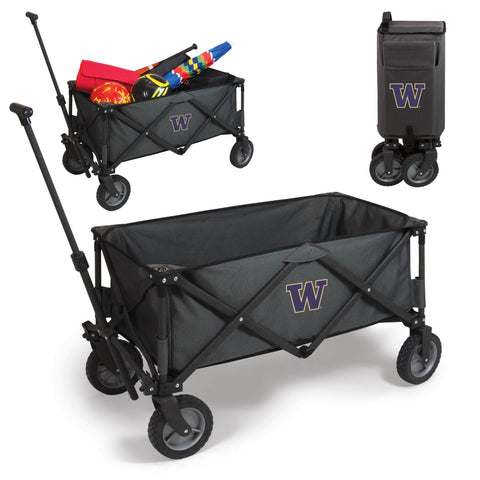 Washington Huskies Adventure Wagon in Dark Grey
