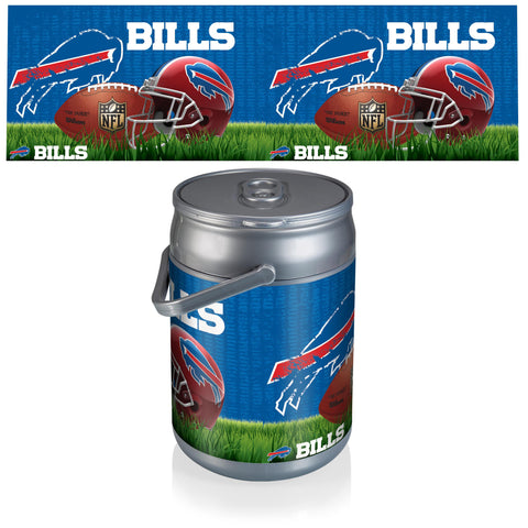 Buffalo Bills Can Cooler in Football Design