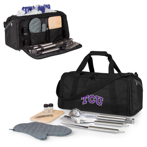 TCU Horned Frogs BBQ Kit Cooler