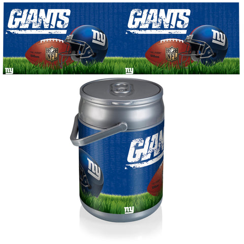 New York Giants Can Cooler in Football Design