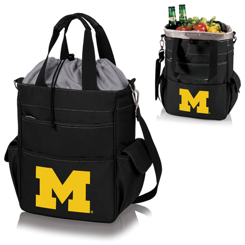 Michigan Wolverines Activo Cooler Tote in Black