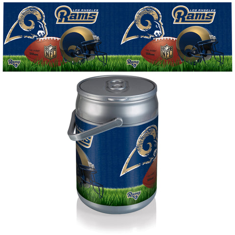 Los Angeles Rams Can Cooler in Football Design
