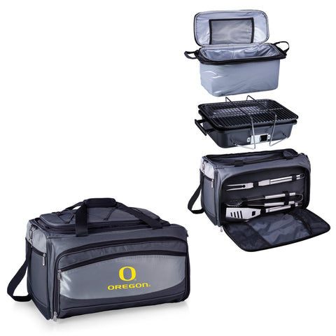 Oregon Ducks Buccaneer Portable BBQ and Cooler Tote