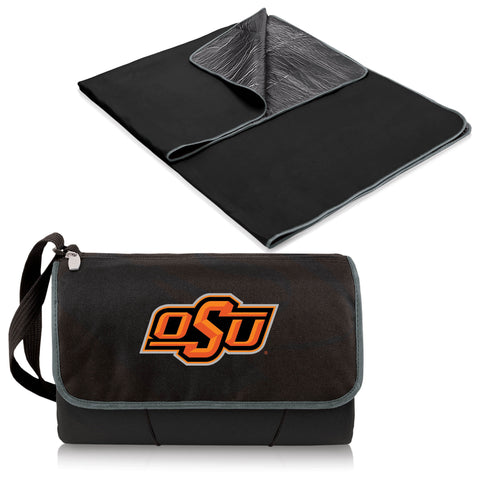 Oklahoma State Cowboys Blanket Tote in Black