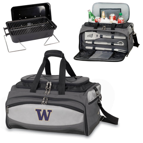 Washington Huskies Buccaneer Portable BBQ and Cooler Tote