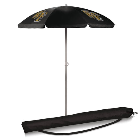 Wake Forest Demon Deacons 5.5' Portable Beach/Picnic Umbrella in Black