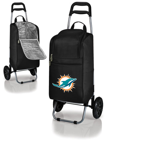 Miami Dolphins Cart Cooler in Black