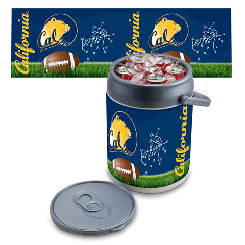 Cal Bears Can Cooler in Football Design