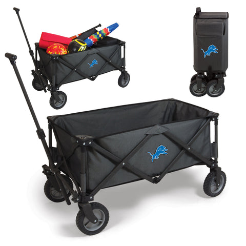 Detroit Lions Adventure Wagon in Dark Grey