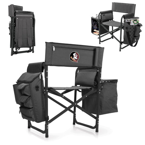 Florida State Seminoles Fusion Chair in Fusion Grey/Black