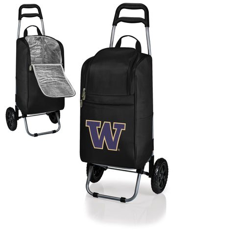 Washington Huskies Cart Cooler in Black