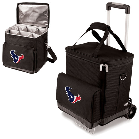 Houston Texans Cellar Wine Cooler w/Trolley