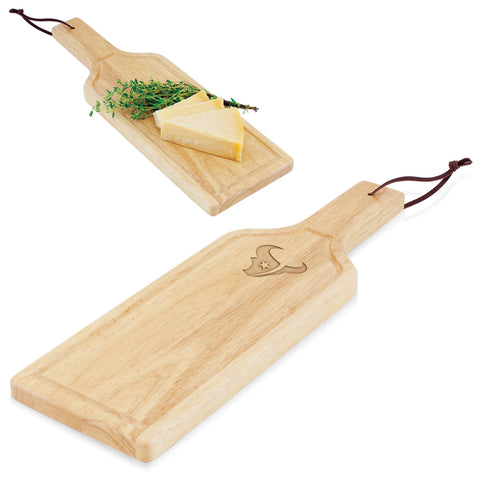 Houston Texans Botella Cheese Board