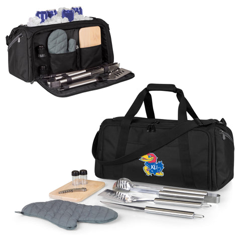 Kansas Jayhawks BBQ Kit Cooler