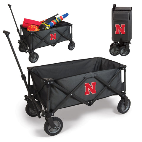 Nebraska Cornhuskers Adventure Wagon in Dark Grey