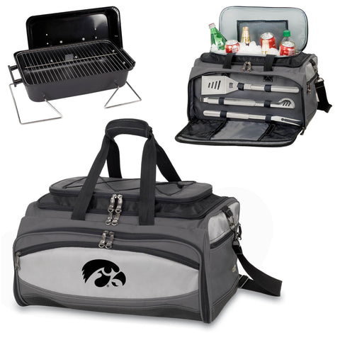 Iowa Hawkeyes Buccaneer Portable BBQ and Cooler Tote