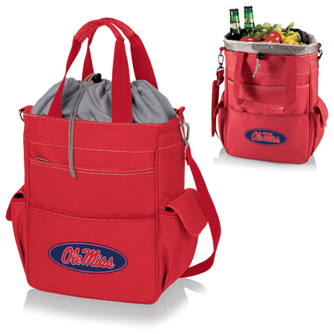 Ole Miss Rebels Activo Cooler Tote in Red