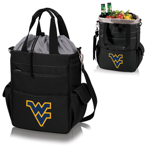 West Virginia Mountaineers Activo Cooler Tote in Black