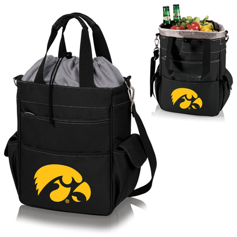Iowa Hawkeyes Activo Cooler Tote in Black