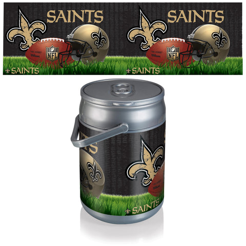 New Orleans Saints Can Cooler in Football Design