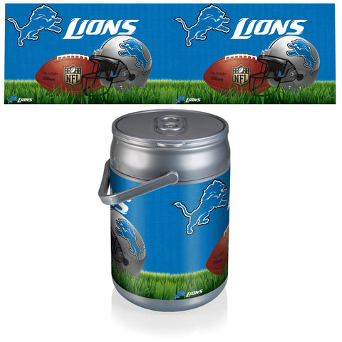 Detroit Lions Can Cooler in Football Design