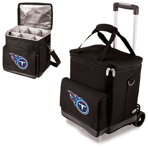 Tennessee Titans Cellar Wine Cooler w/Trolley