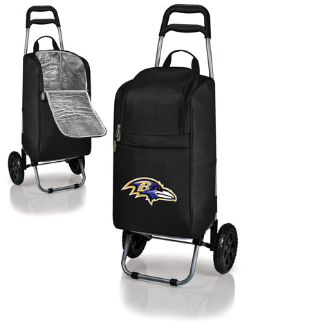 Baltimore Ravens Cart Cooler in Black