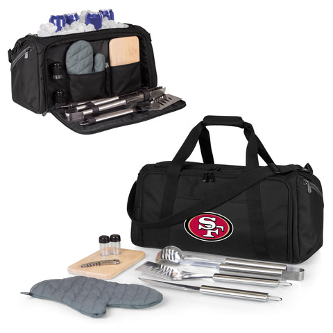 San Francisco 49ers BBQ Kit Cooler