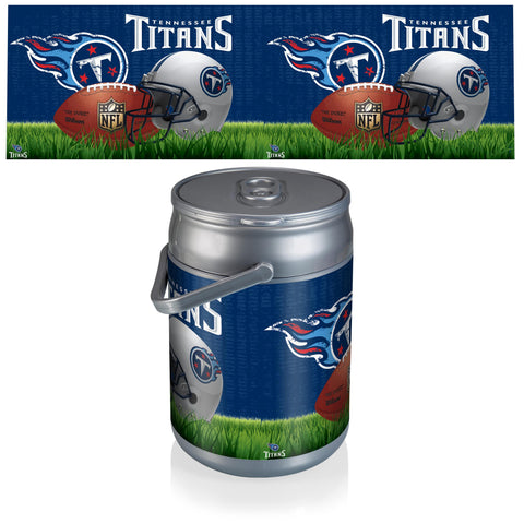 Tennessee Titans Can Cooler in Football Design