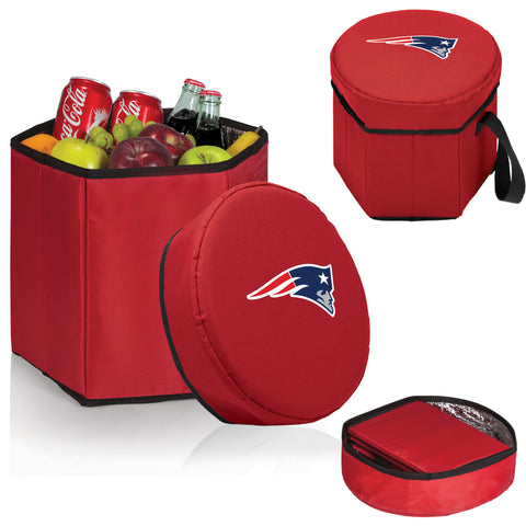 New England Patriots Bongo Cooler in Red