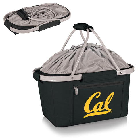 Cal Bears Metro Basket Collapsible Tote in Black