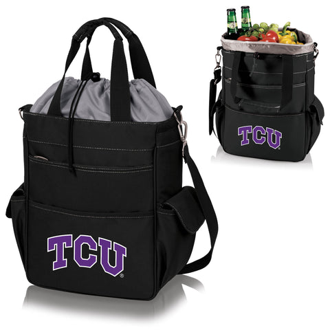 TCU Horned Frogs Activo Cooler Tote in Black