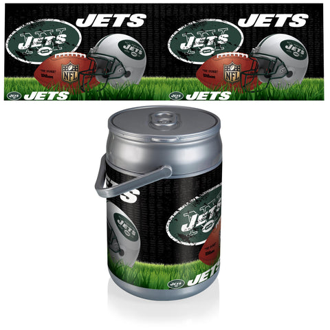 New York Jets Can Cooler in Football Design