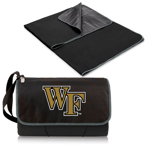 Wake Forest Demon Deacons Blanket Tote in Black