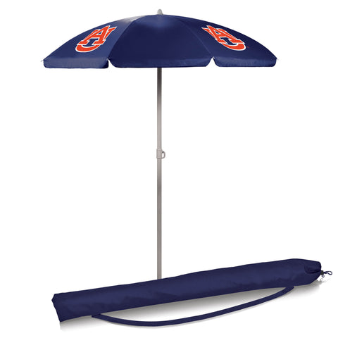 Auburn Tigers 5.5' Portable Beach/Picnic Umbrella in Navy