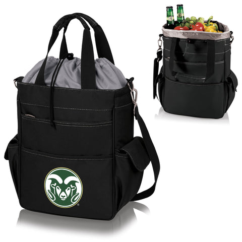 Colorado State Rams Activo Cooler Tote in Black