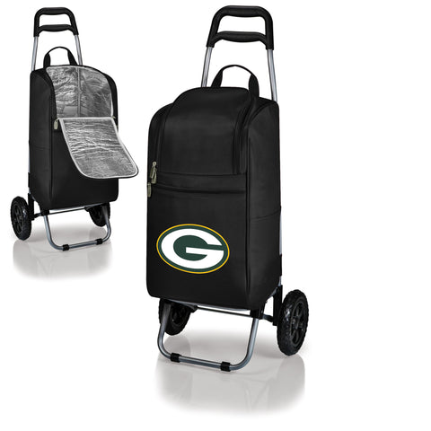 Green Bay Packers Cart Cooler in Black