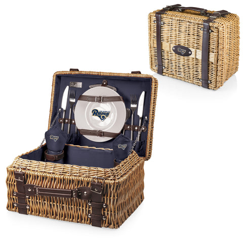 Los Angeles Rams Champion Picnic Basket in Navy
