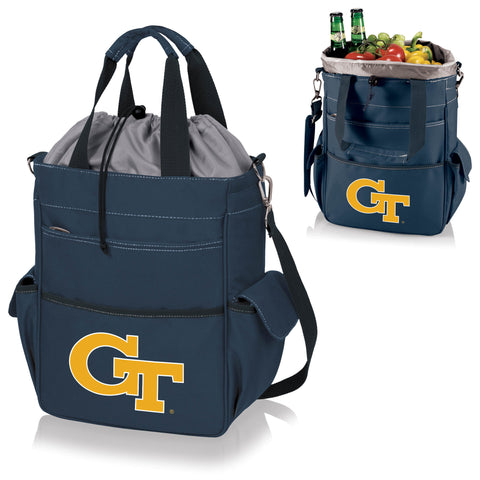 Georgia Tech Yellow Jackets Activo Cooler Tote in Navy