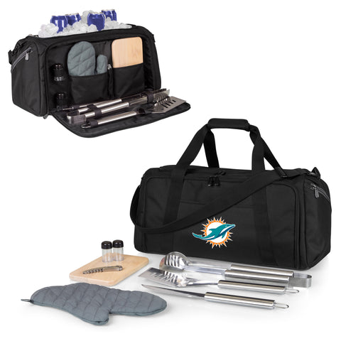 Miami Dolphins BBQ Kit Cooler