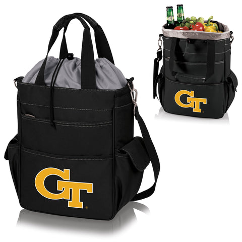 Georgia Tech Yellow Jackets Activo Cooler Tote in Black