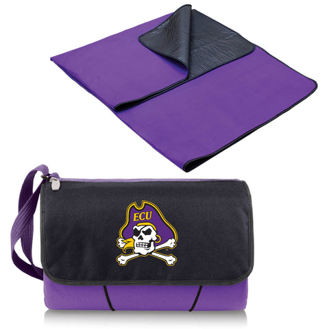 East Carolina Pirates Blanket Tote in Purple