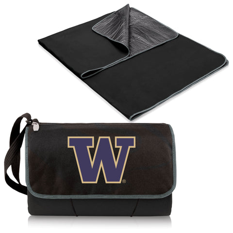 Washington Huskies Blanket Tote in Black
