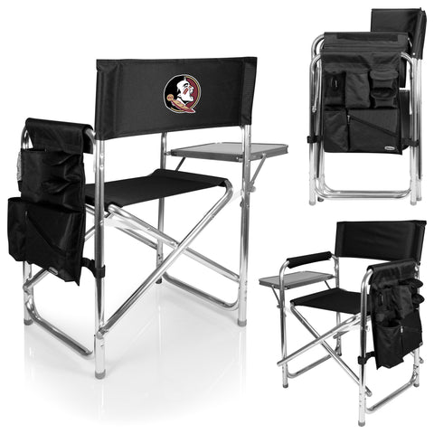 Florida State Seminoles Sports Chair in Black