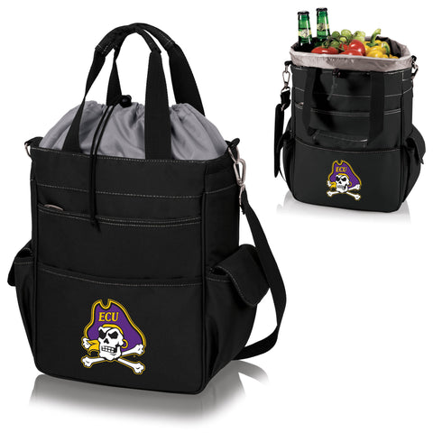East Carolina Pirates Activo Cooler Tote in Black